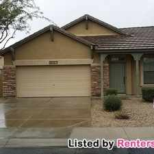 Rental info for 18357 W Paseo Way
