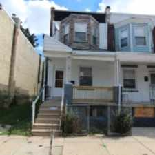 Rental info for 327 Horton Street in the Overbrook area