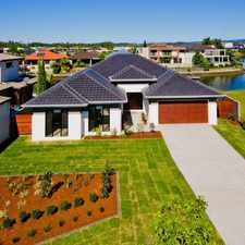 Rental info for LUXURY HOME SITUATED ON THE RIVER and IN QUIET CUL-DE-SAC in the Helensvale area