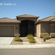 Rental info for 4320 W. Kastler Ln.