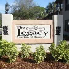 Rental info for Legacy Apartments in the Wellswood area