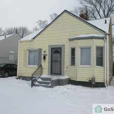 Rental info for Contact Debby today on this cute 3 bedroom, 1 bath brick Bungalow on Detroit's West side! in the Brooks area