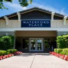 Rental info for Waterford Place Apartments