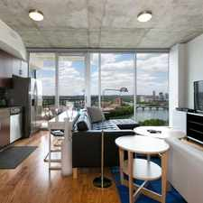 Rental info for Live on Rainey St. Call for apt. in the Downtown area