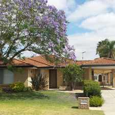 """Rental info for """"LOVELY QUIET LOCATION"""" in the Perth area"""