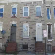 Rental info for Two Bedroom House with one bathroom in the Washington Village area