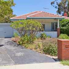 Rental info for Lovely Character Home on Large Spacious Block with lots of parking in the Armadale area