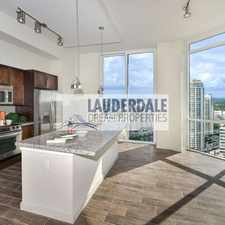 Rental info for 201 Southeast 8th Avenue in the Fort Lauderdale area