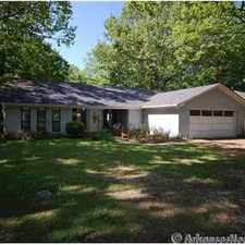 Rental info for Large 3Bd/2Ba home in Conway, AR
