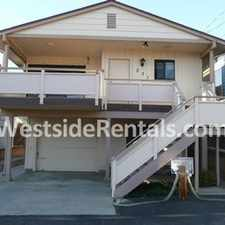 Rental info for 2 Bedrm 2 Bath Morro Bay House W Garage & View