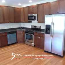 Rental info for 2 Bed 2 Bath Deluxe with SS Appliances, Washer/Dryer in Unit, Central Air, Walk everywhere in the Irving Park area