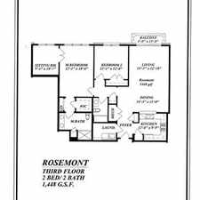 Rental info for 2-bed 2-bath, 1448 SF brand new condo in the West Chester area