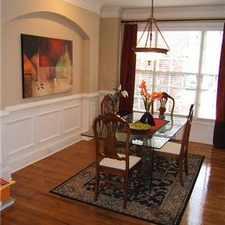 Rental info for Smyrna/Vinings Premier Custom Townhouse For Rent in the Atlanta area
