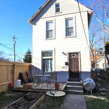 Rental info for 1273-1275 Hunter Avenue in the Columbus area