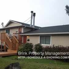 Rental info for 3716 South Oregon Street in the Columbia City area