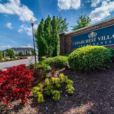 Rental info for Cedarcrest Village Apts