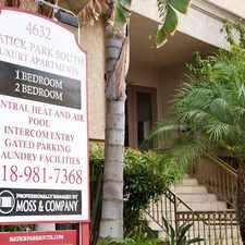 Rental info for Natick Park South in the Sherman Oaks area