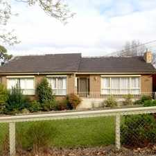 Rental info for CLASSIC AND COMFORTABLE HOME in the Ringwood East area