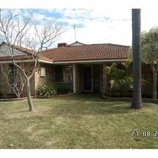 Rental info for WALKING DISTANCE TO WAIKIKI FORESHORE! in the Perth area