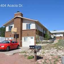 Rental info for 1400 & 1404 Acacia Dr. in the Cragmoor area