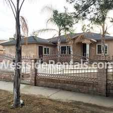 Rental info for BEAUTIFUL 4 BD2BTH DUPLEX STYLE HOME IN PACOIMA in the Pacoima area