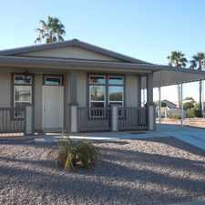 Rental info for 2015 Model Home