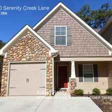 Rental info for 1420 Serenity Creek Lane