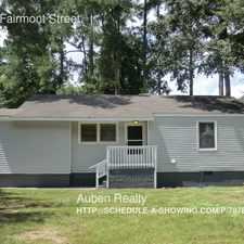 Rental info for 2839 Fairmont Street