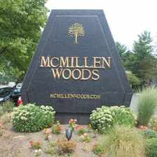 Rental info for McMillen Woods Apartments