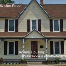 Rental info for 809 S. Division Street