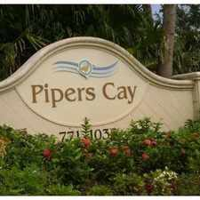 Rental info for 936 Pipers Cay Drive