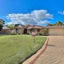 Rental info for GREAT 4 BEDROOM WITH SHORT STROLL TO THE BEACH in the Perth area