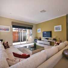 Rental info for Relax In This Contemporary Home At Aveley in the Perth area