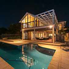 Rental info for Architecturally Designed Light Filled Executive Home in the Mosman Park area