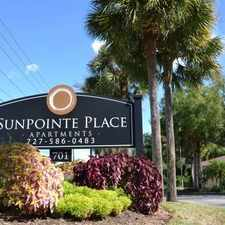 Rental info for Sunpointe Place Apartments