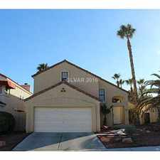 Rental info for Pool Home - 89117 - 3 bed - L 3.16 in the West Sahara area