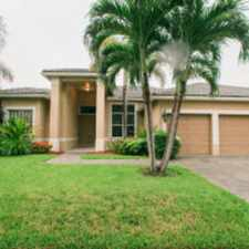Rental info for CALL 561-674-7462 FANTASTIC 5 BED/ 3 BATH/ 3 CAR GARAGE HEATED POOL/SPA HOME WITH DOMED SCREENED PAVER PATIO in the Delray Beach area