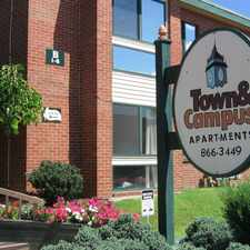 Rental info for Town And Campus Apartments