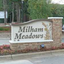 Rental info for Milham Meadows Apartments