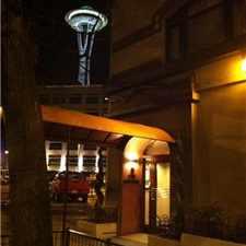 Rental info for Belltown 2 BR/2 BA w/Study in the Seattle area