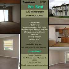 Rental info for 129 WINTERGREEN