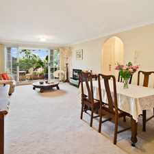 Rental info for Graceful Apartment in Sought After Location in the Mosman area