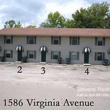 Rental info for 1586 Virginia Avenue