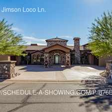 Rental info for 11167 E. Jimson Loco Ln.