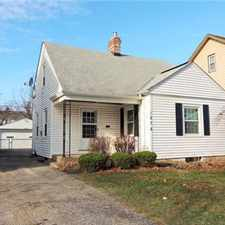 Rental info for Lovely & Completely Renovated 3 Bedroom Cape Cod! in the South Euclid area