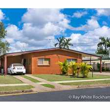 Rental info for Close to Schools and Shopping Centre in the Rockhampton area