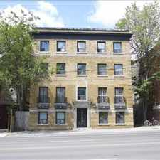 Rental info for Avenue Rd. andamp; Dupont St.: 320 Avenue Road, 0BR in the Yonge-St.Clair area