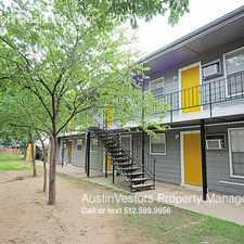 Rental info for 901 Springdale Rd - Apt in the Govalle area