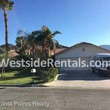 Rental info for 3 bedrooms, 2 Baths in the La Quinta area