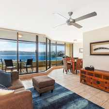 Rental info for Stunning Harbour Views, Luxury Two Bedroom, Furnished Apartment in the Sydney area